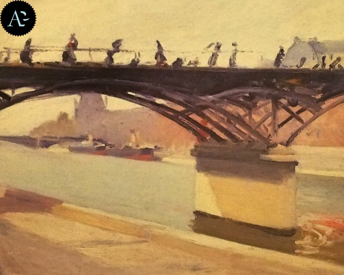 Le Pont des Arts | Edward Hopper