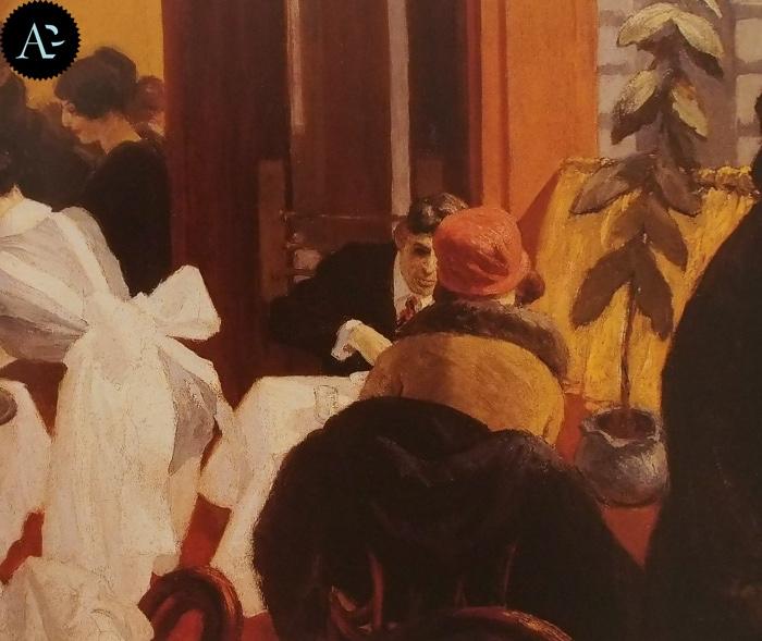 New York Restaurant | Edward Hopper
