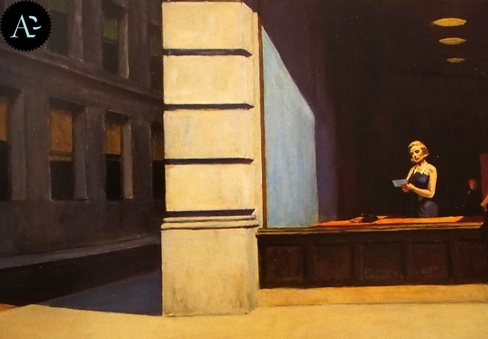 Ufficio a New York | Edward Hopper
