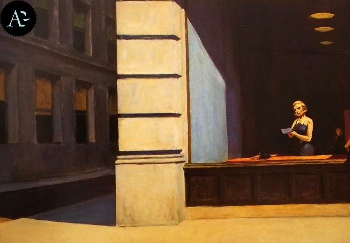 Ufficio a New York | Edward Hopper