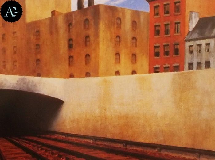 Edward Hopper | entrando in città