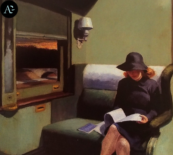 Scompartimento C | Edward Hopper