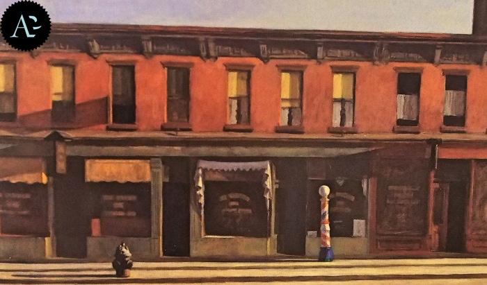Early Sunday Morning | Edward Hopper