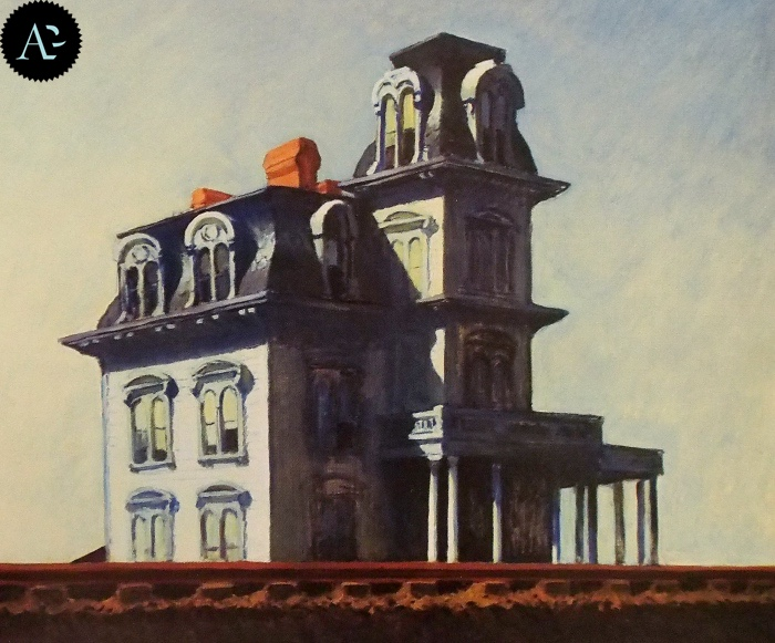 House by the Railroad| Edward Hopper
