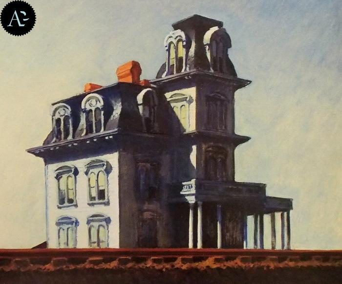 House by the Railroad| Edward Hopper
