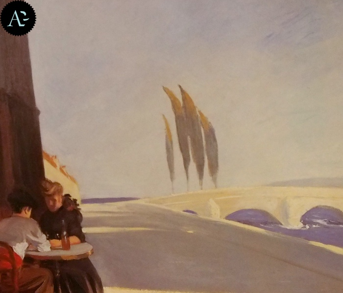 La bottega del vino| Edward Hopper