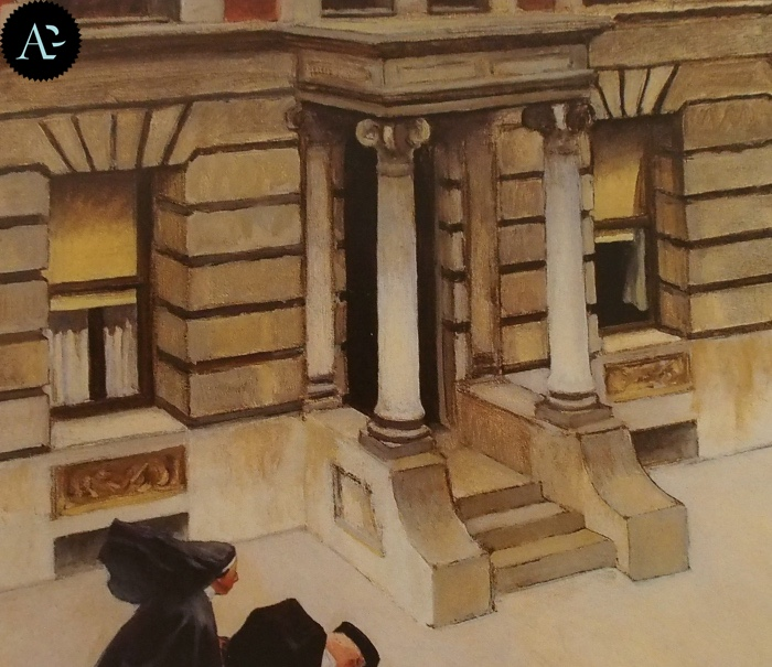 New York Pavements | Edward Hopper