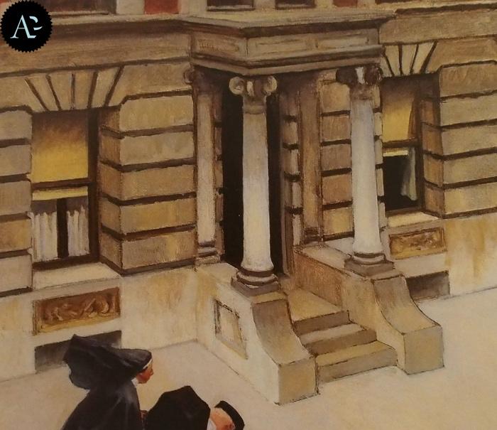 New York Pavements | Edward Hopper