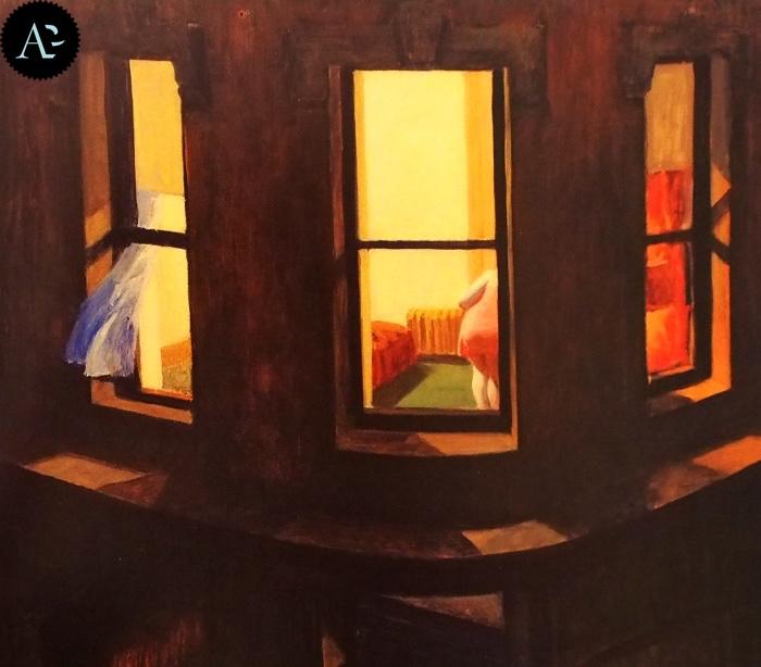 Finestre di notte | Edward Hopper