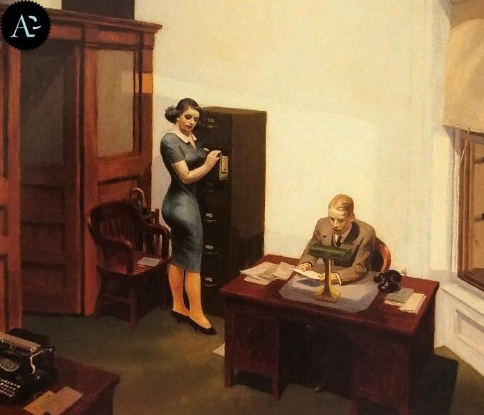 Office at Night | Edward Hopper