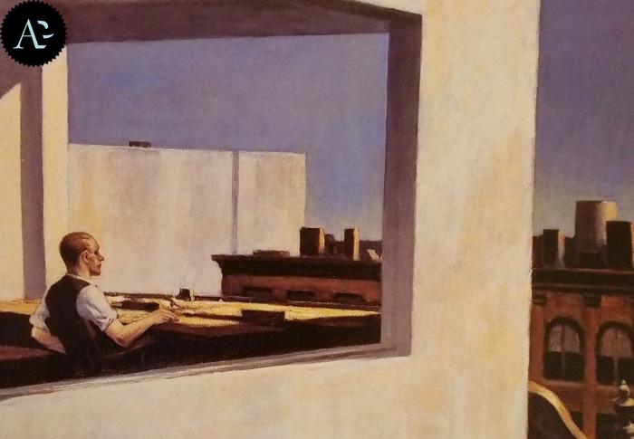 Office in a small city | Edward Hopper