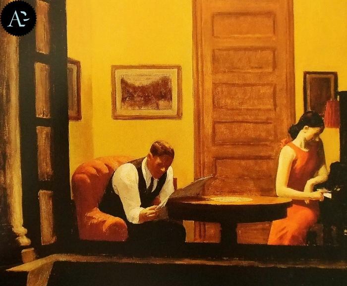 Room in New York| Edward Hopper
