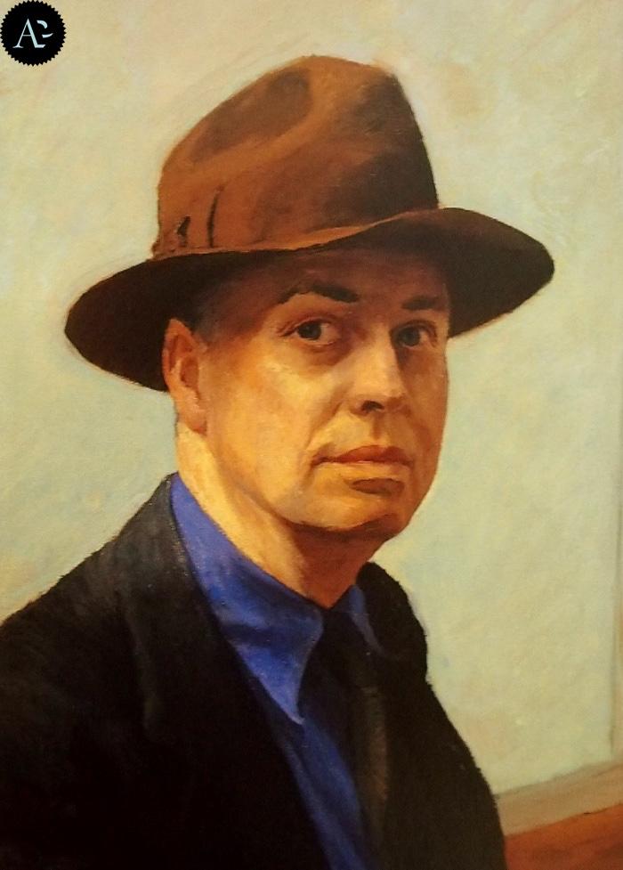 Edward Hopper  | Autoritratto