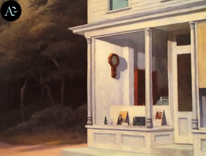 Le sette del mattino| Edward Hopper