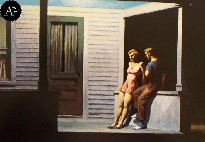 Sera d'estate | Edward Hopper