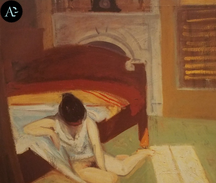 Interno d'estate | Edward Hopper