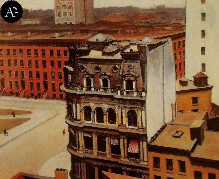 The City | Edward Hopper