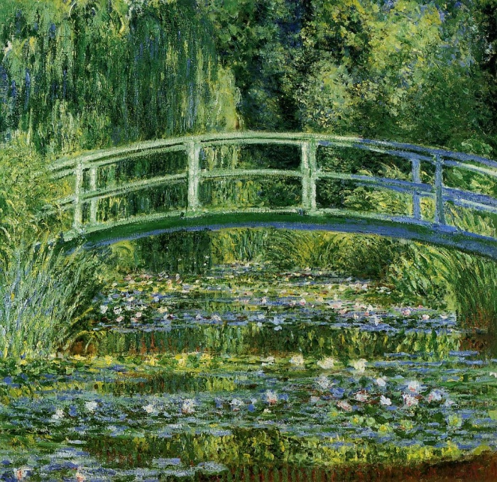 Water Lilies | Japanese Bridge | Monet