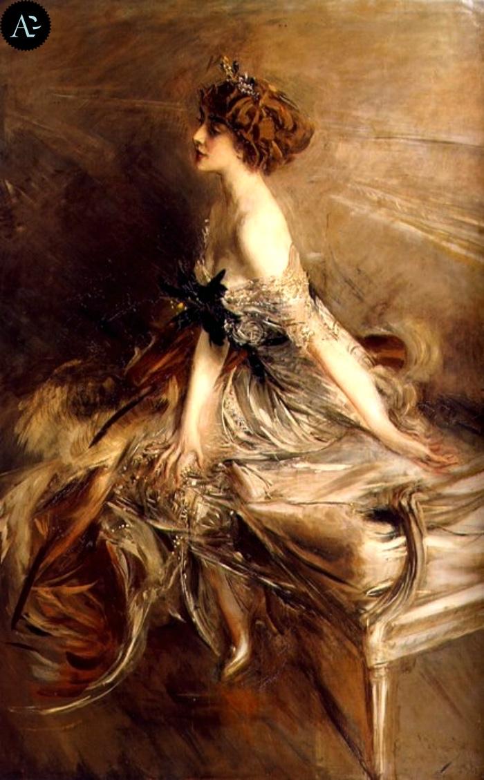 Giovanni Boldini | Portrait of Princess Marthe Bibesco