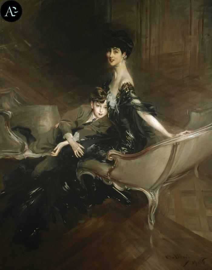 Giovanni Boldini | Consuelo Vanderbilt