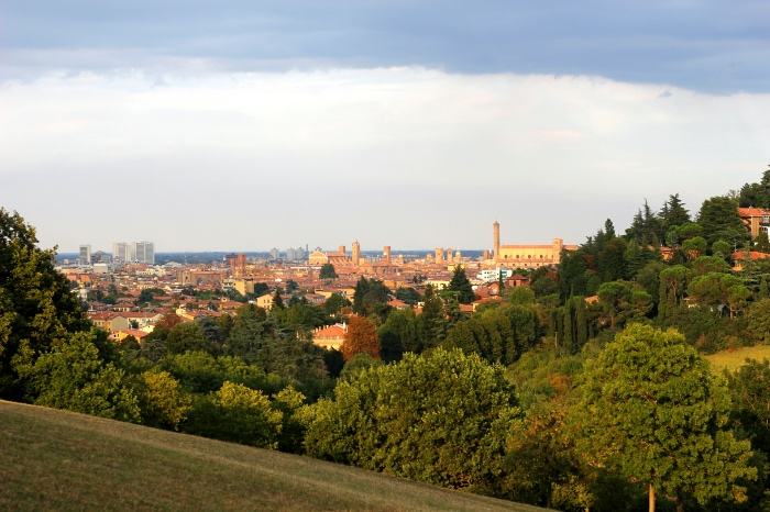 The hills of Bologna