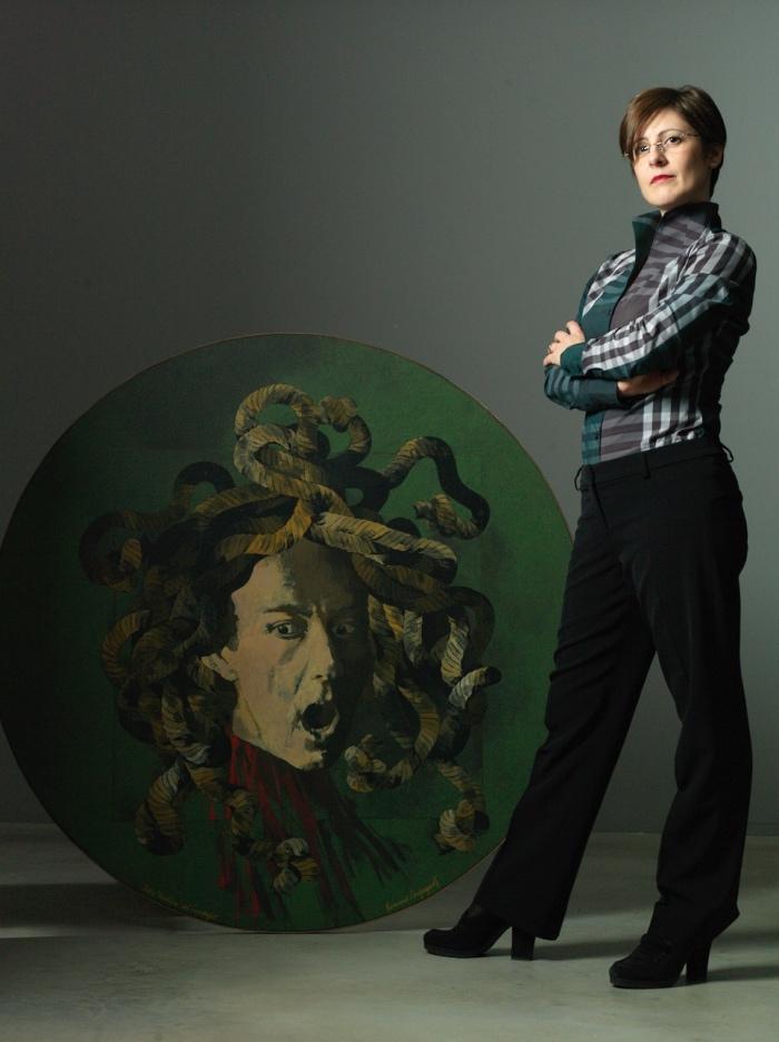 Medusa di Caravggio | facce da blogger