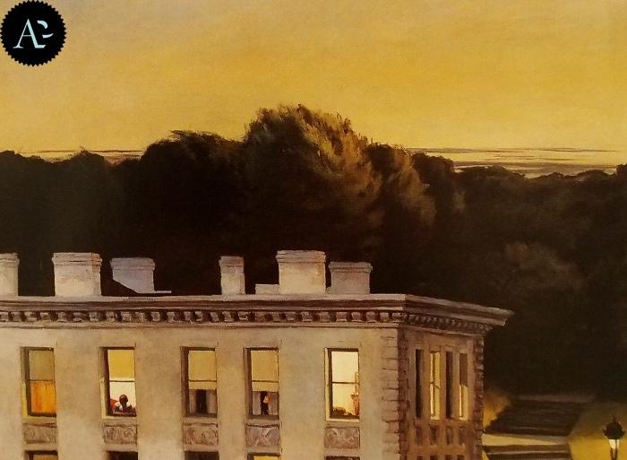 Casa nel crepuscolo| Edward Hopper