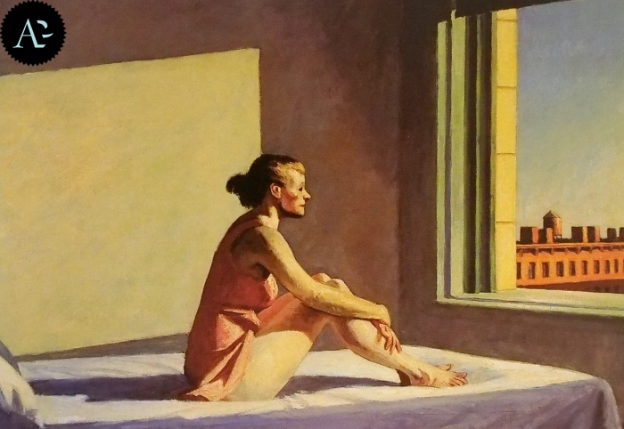 Sole di mattina | Edward Hopper