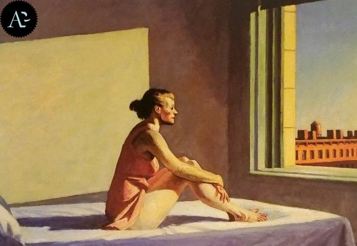 Sole di mattina | Edward Hopper