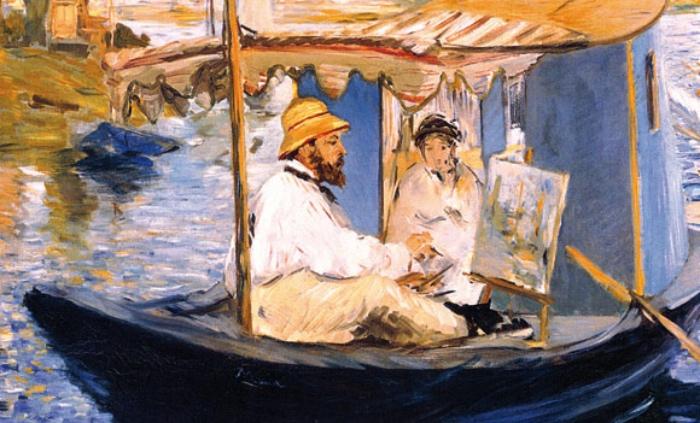 Manet | Monet che dipinge