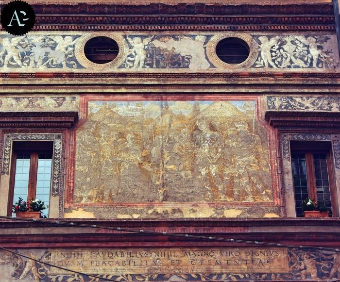 Mantegna | affresco | Mantova