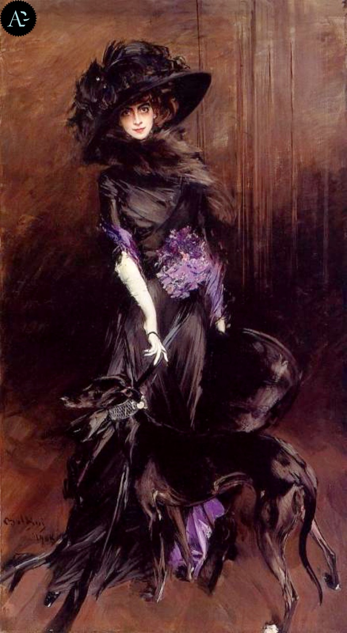 Giovanni Boldini |Ritratto della Marchesa Casati