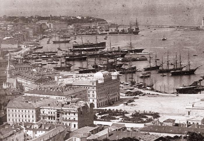 Porto di Trieste | 1885