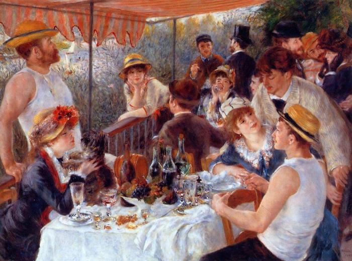 Renoir | il pranzo dei canottieri