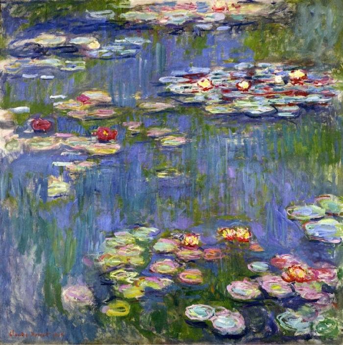 water lilies | Monet