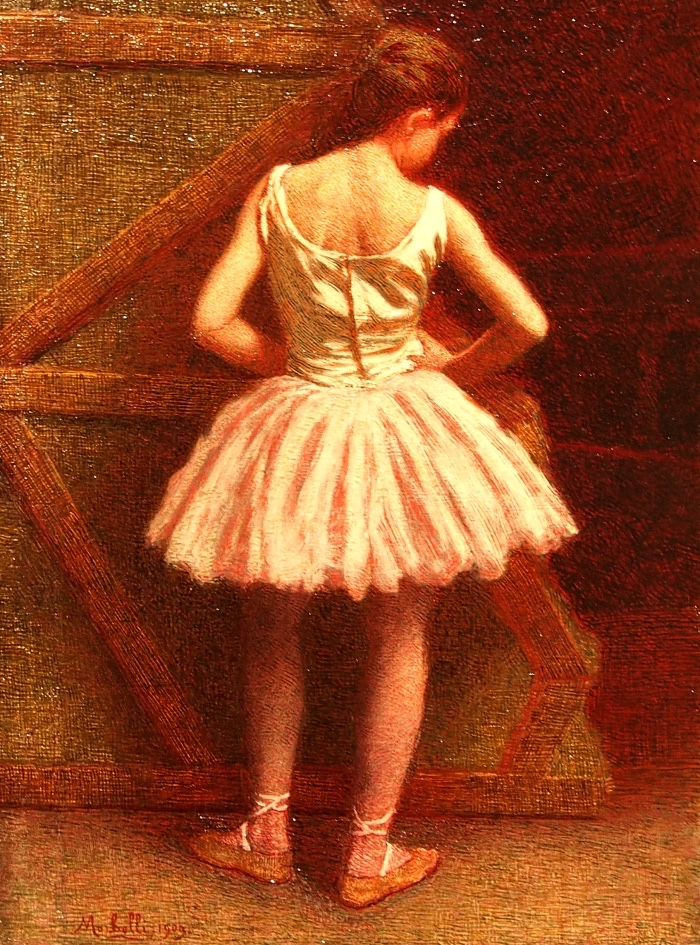 Angelo Morbelli | Ballerina | mostre Mart Rovereto