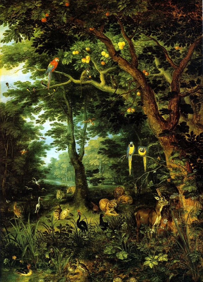Jan Brueghel |the Younger Paradise