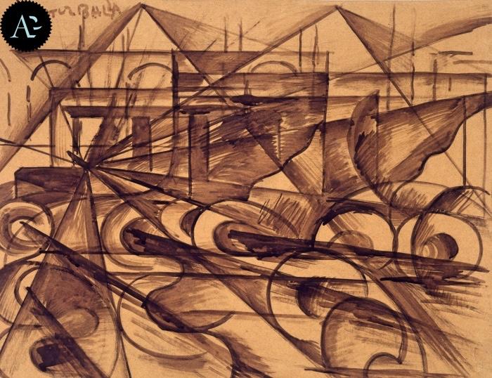 Giacomo Balla | Velocità | Mart Rovereto