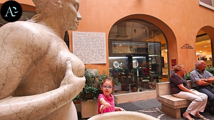 Treviso | the Fountain of Tits
