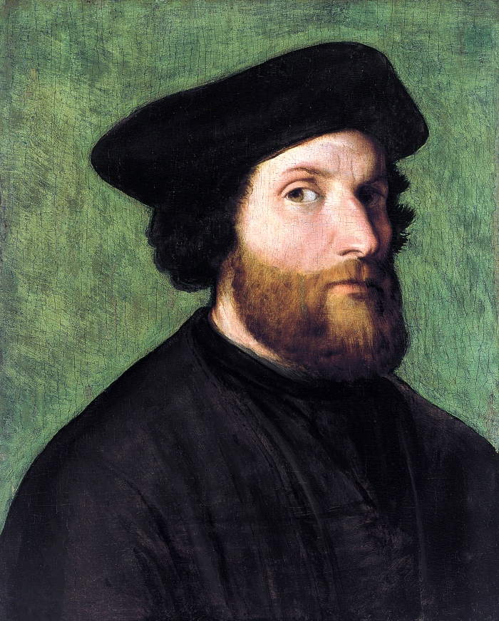 Lorenzo Lotto, self-portrait