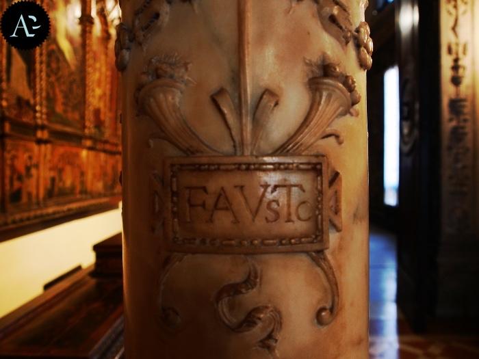Museo Bagatti Valsecchi | colonna
