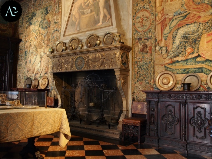 Museo Bagatti Valsecchi | sala da pranzo