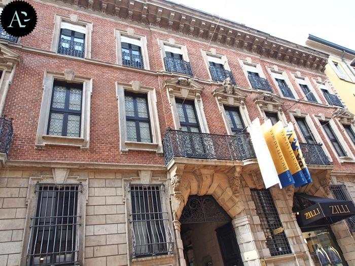 Museo Bagatti Valsecchi | facciata palazzo