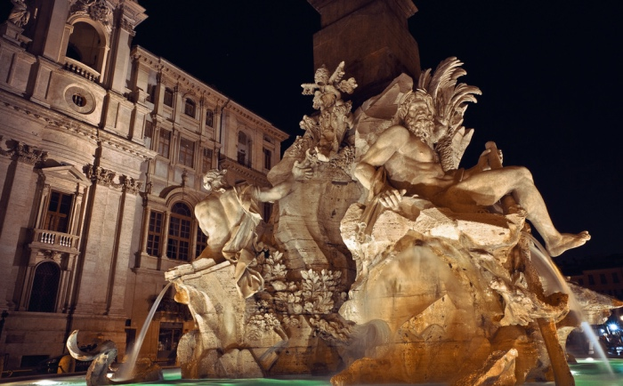 Fountain of the 4 rivers | Rome