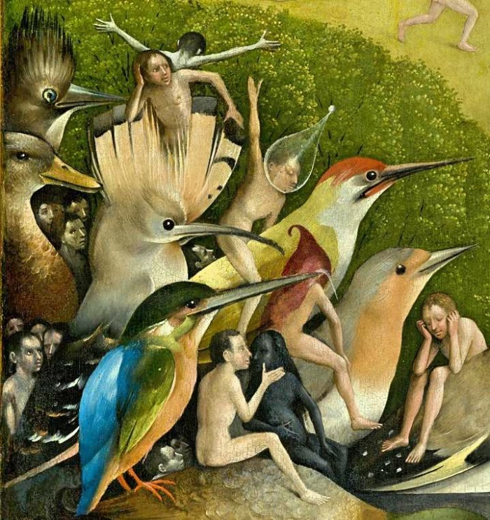 Garden of Earthly Delights | Bosh | detail