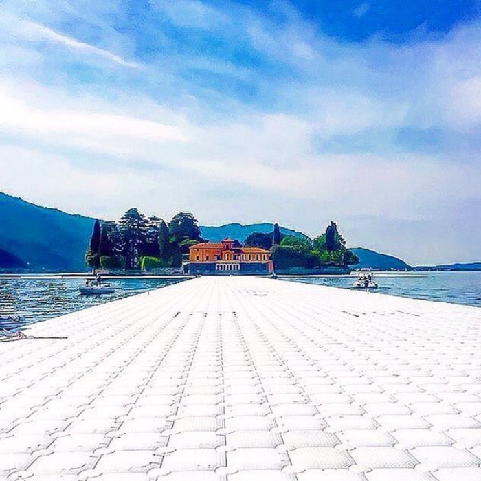 christo | Lake Iseo