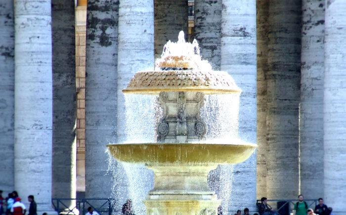 Fountains of St. Peter's Square | Rome