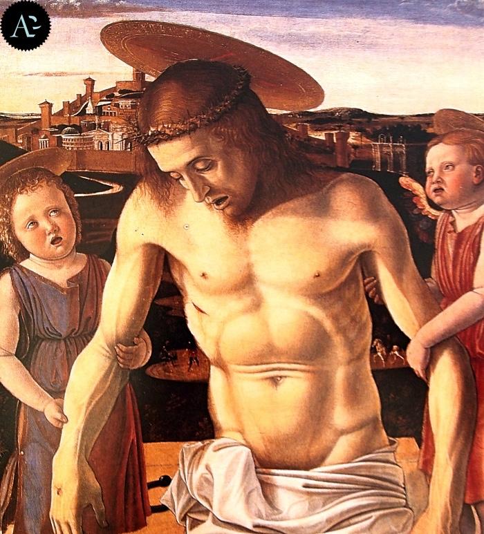Giovanni Bellini | Cristo sorretto da due angeli | Museo Correr Venezia