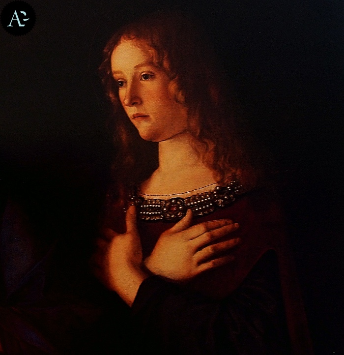 Giovanni Bellini | Madonna con Bambino tra due sante