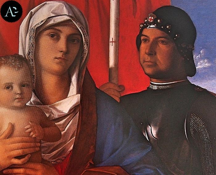 Giovanni Bellini | Madonna con Bambino tra i santi Paolo e Giorgio